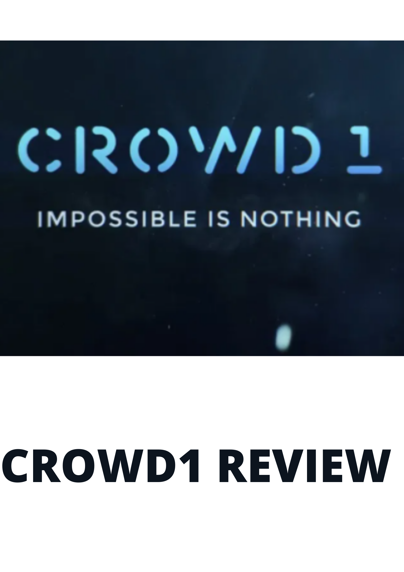 Crowd1 Review 2021